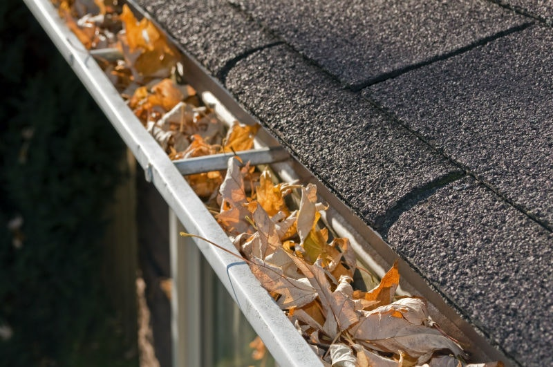 We Offer Gutter Cleaning As An Add On Service Image Louisville Ky All American Chimney Service
