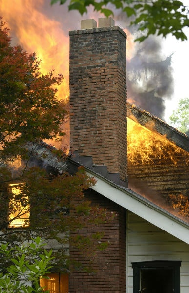 Signs Of Chimney Fire Image Louisville Ky All American Chimney Service