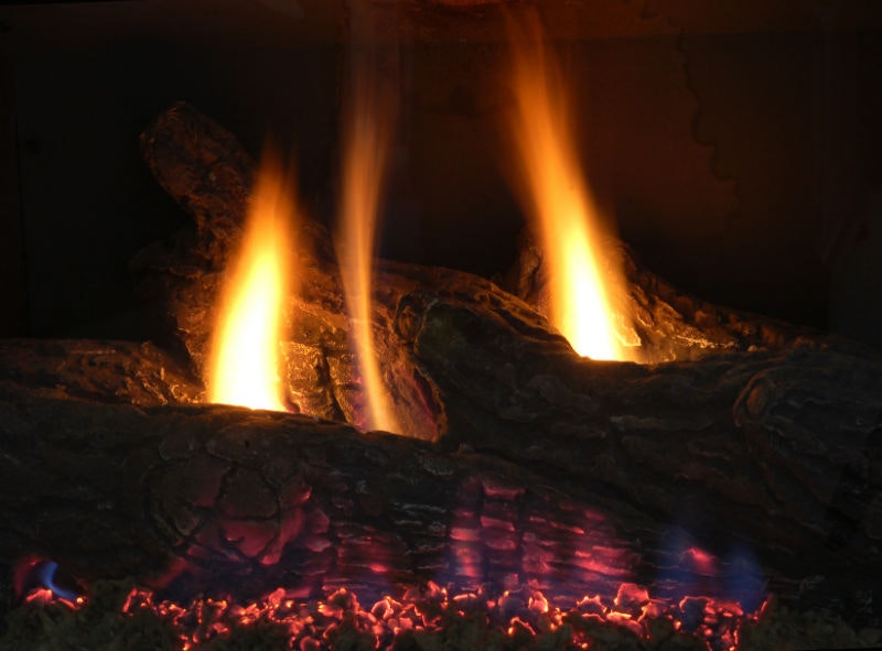 Converting Your Existing Fireplace To Gas Image Louisville Ky All American Chimney